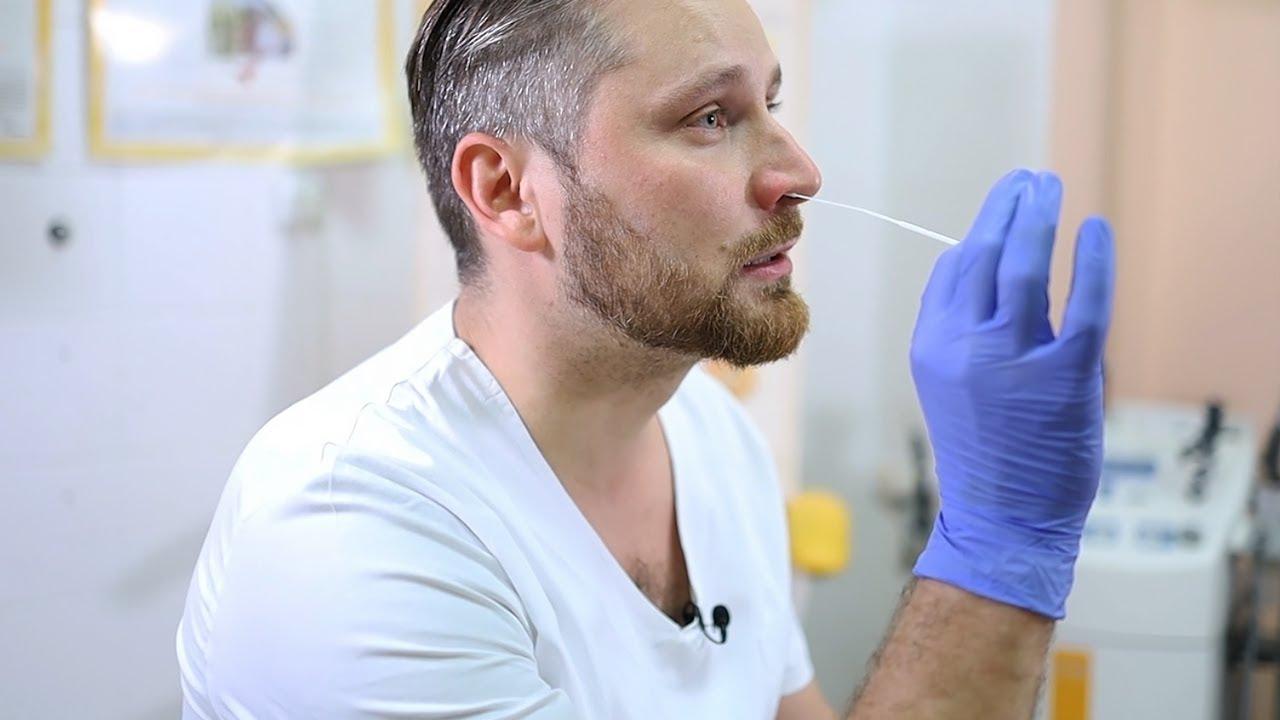 Download Postup pri získavaní nosohltanového výteru pre antigénový test COVID 19