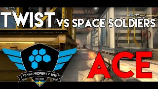 twist vs. Space Soldiers - ACE @ GameAgents League Season 2 Qualifier