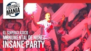 Monumental de Núñez Insane Party - River Plate Amazing Entrance Vs. Boca Juniors - El Superclásico