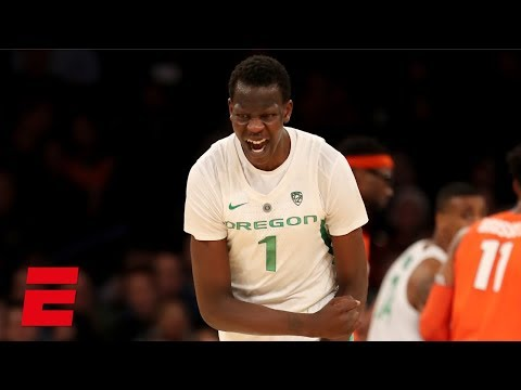 Bol Bol's 26-point game carries Oregon past Syracuse on his birthday | College Hoops Highlights
