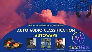 Auto Audio Classification Library - AutoWave - Audio Classification, CNN 1D, Fourier Transformations