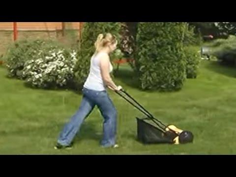 Ремонт ручной газонокосилки - YouTube