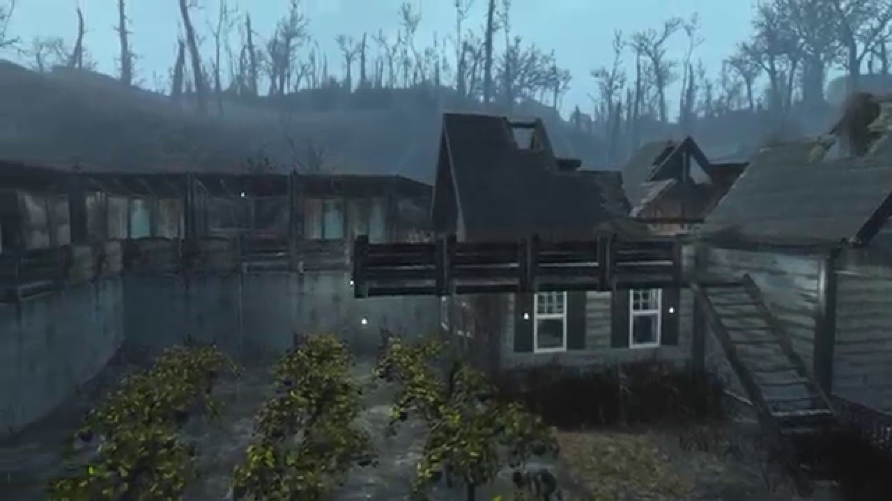 Fallout 4 Somerville Place Settlement Youtube