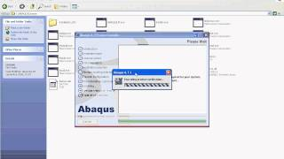 Repeat youtube video Abaqus v67 installation video tutorial www.arab-eng.org