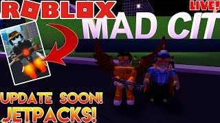 🌎 Roblox | LIVE Stream #196 | MAD CITY!! NEW UPDATE SOON!!! 🌎