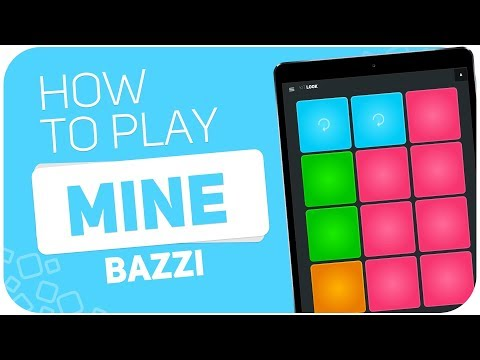 How To Play: MINE (Bazzi) - SUPER PADS - Kit LOOK