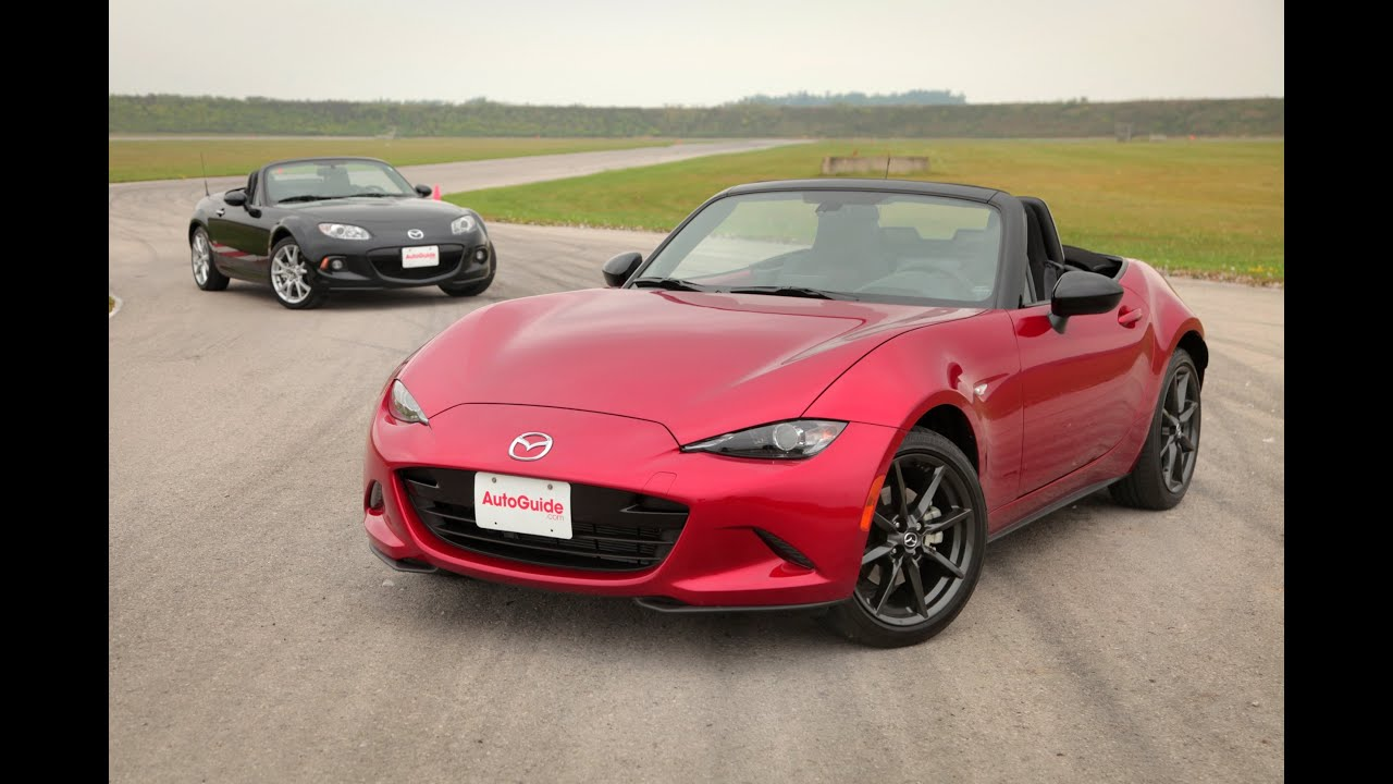 2016 Mazda MX-5 vs. 2015 Mazda MX-5 - YouTube