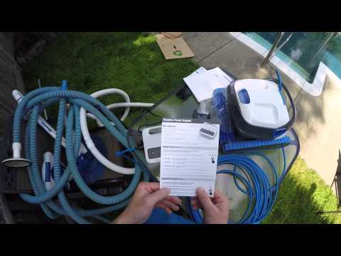 Maytronics Dolphin S300i Robotic Pool Cleaner Unboxing, Use and Review