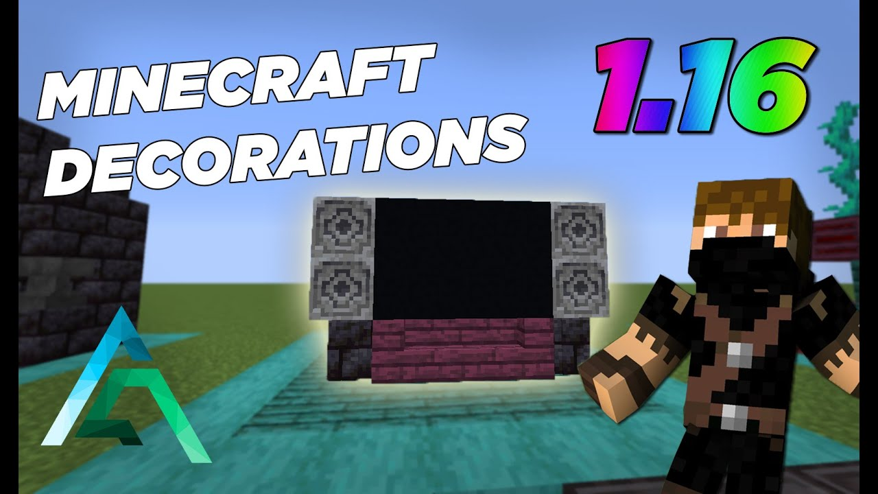 Minecraft  11 Furniture And Decoration Designs In 1 16