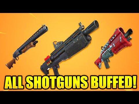 NEW SHOTGUN BUFFS! (Fortnite V6.31 Update)