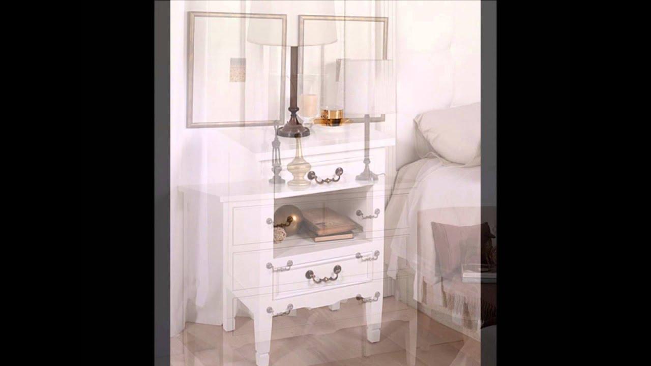 Muebles Vintage blancos colección Madison  YouTube