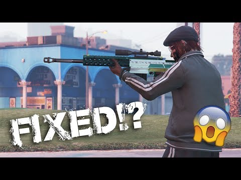 How to FIX the Heavy Sniper! (1 Shot) | GTA Online