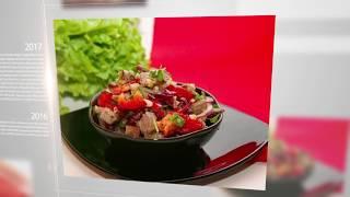 """Готовим салат """"Тбилиси"""" с говядиной и фасолью. Лучшие рецепты от wowfood.club"""