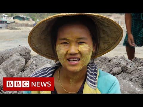 Myanmar's deadly 'jade rush' - BBC News