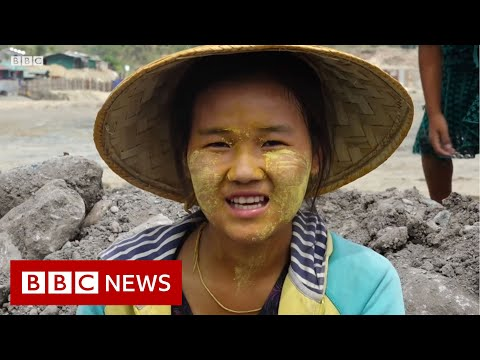 Myanmar's deadly 'jade rush' - BBC News