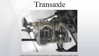 Transaxle