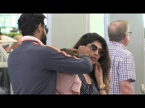 'Indian cricket team fly out of Melbourne victorious after Boxing day'  15MOF