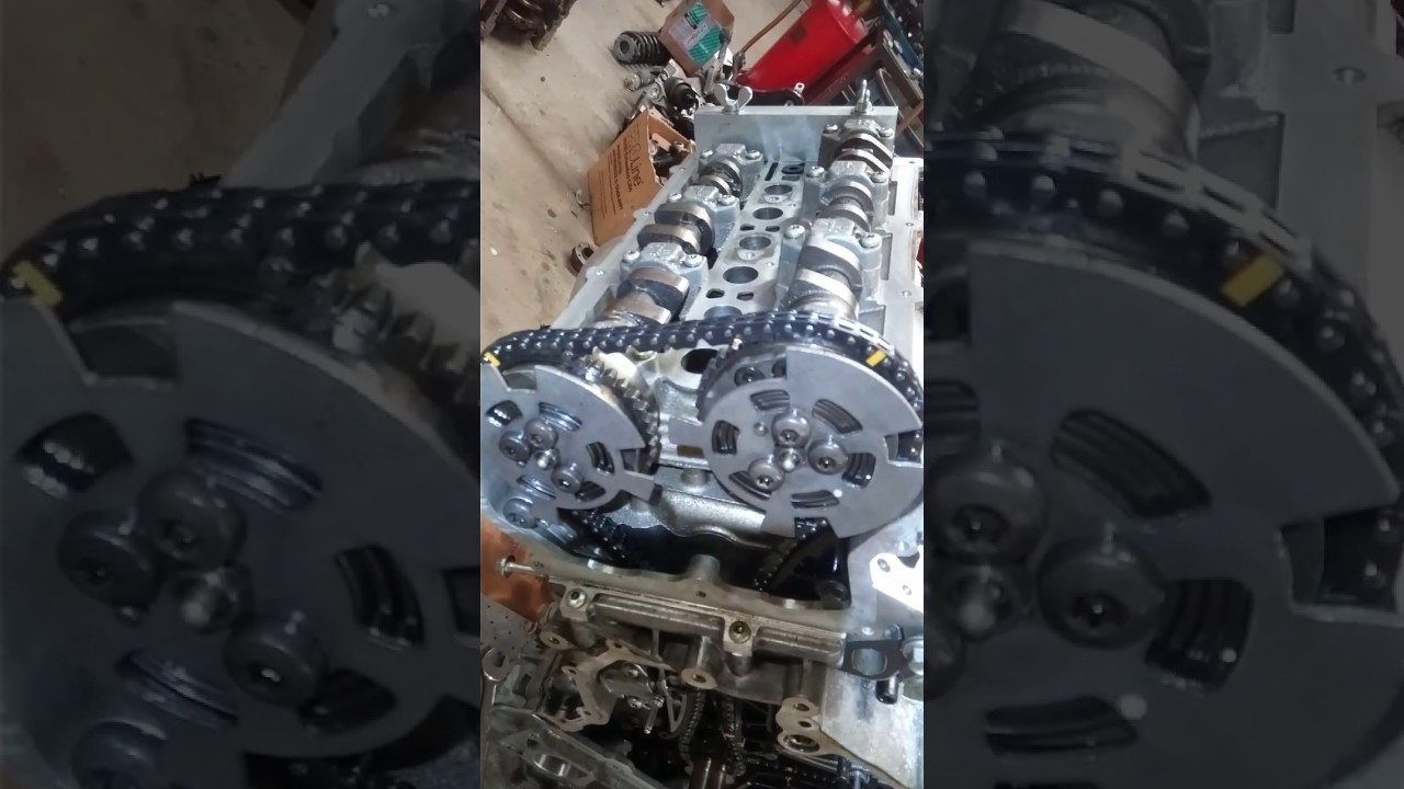 Timing chain marks , 2016 Jaguar ftype , engine 30 supercharger  YouTube
