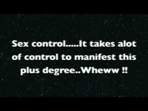 Sex Control..God Dont Pull Hair...well not all the time...LOL