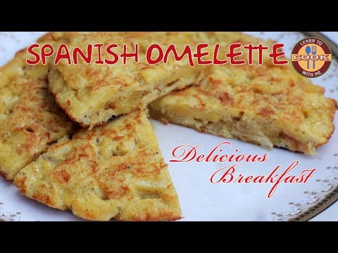 Spanish Omelette Recipe | Delicious & Healthy Spanish Breakfast Recipe