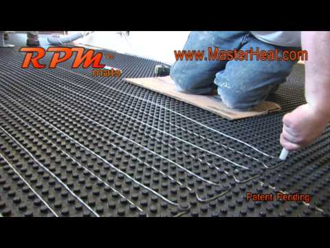 in floor heating Radiant Heating RPM DO IT YOURSELF