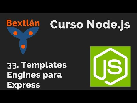 express template engines - curso 33 templates engines para express youtube