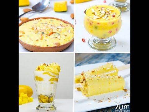 Try these Mouth-Watering Mango Dessert Recipes 😋