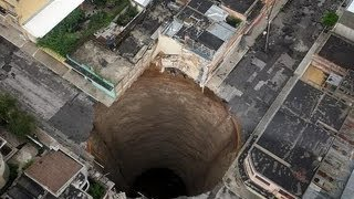 10 huge hole in the world.