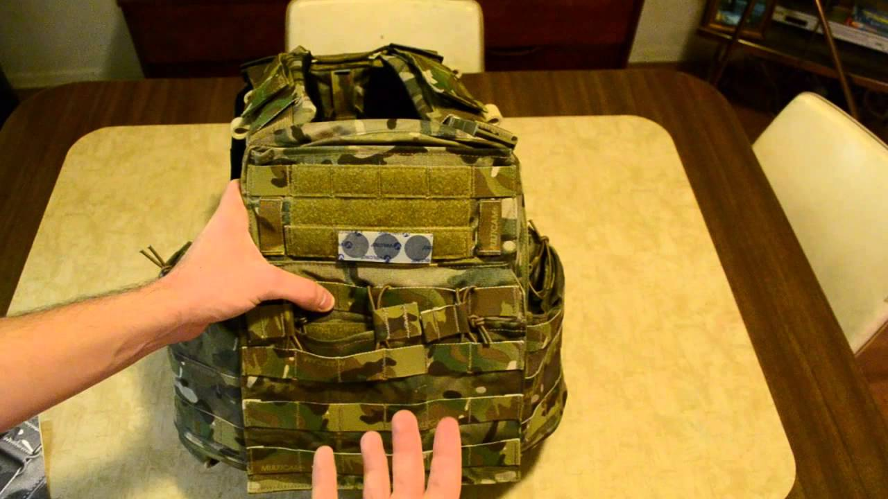 Crye Precision Cage Plate Carrier (CPC): Unboxing and First ...