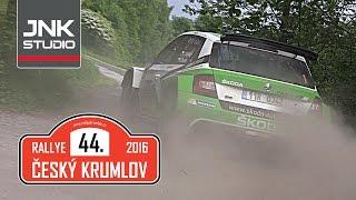 Rallye Český Krumlov 2016 (action & crash)