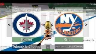 Flyers vs. Bruins 3 em 3 NHL hockey no período ROBLOX 3