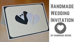 Handmade Wedding Invitation | by Handmade Desire