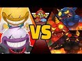 DEMUNCHER & DEVOURER vs ALL ONI in Yo-kai Watch Blasters (Theme Team)