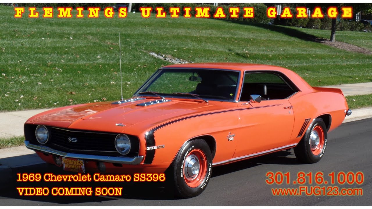 1969 Chevrolet Camaro SS396 VIDEO COMING SOON flemings ultimate ...