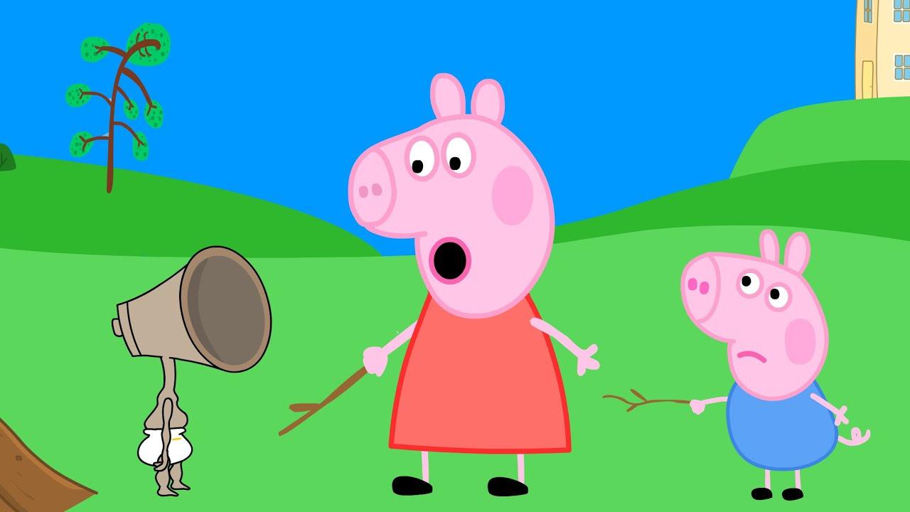 Peppa Pig Siren Head Baby
