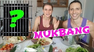 Lunch with a criminal?! Drugs, Gang Violence & Life [Mukbang Storytime]