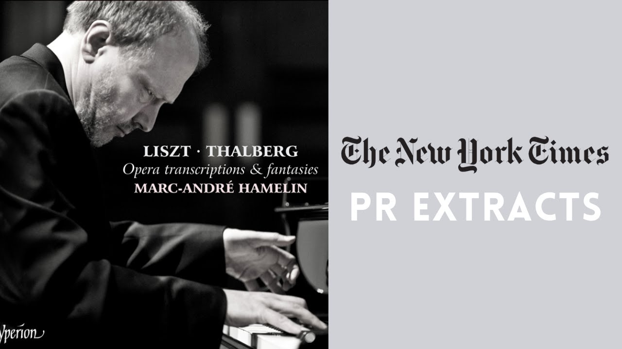 Liszt Thalberg Opera Transcriptions Fantasies Marc Andre Hamelin Thalberg Fantaisie Op 33 Youtube