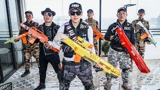 LTT Game Nerf War : Warriors SEAL X Nerf Guns Fight Dangerous Tycoon Rescue Best Friend