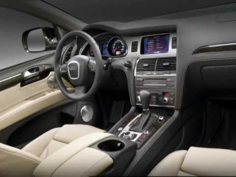 Audi Q7 3.0 TDI interior - YouTube