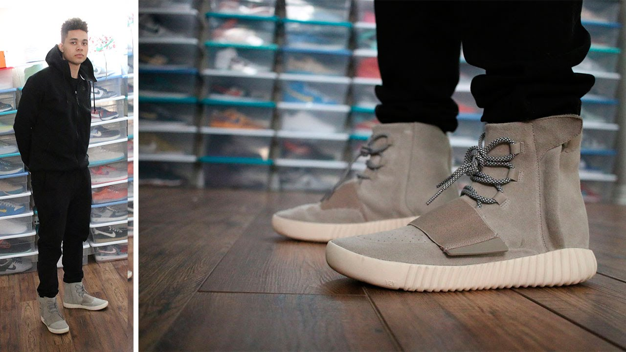 f77b4cb70e1 Adidas Yeezy 750 Boost W On Foot Review - YouTube