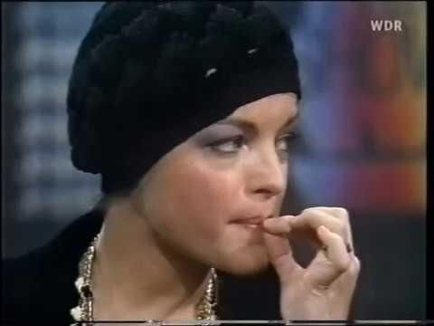Romy Schneider - Je später der Abend (Talkshow, 1974), Teil 5/5