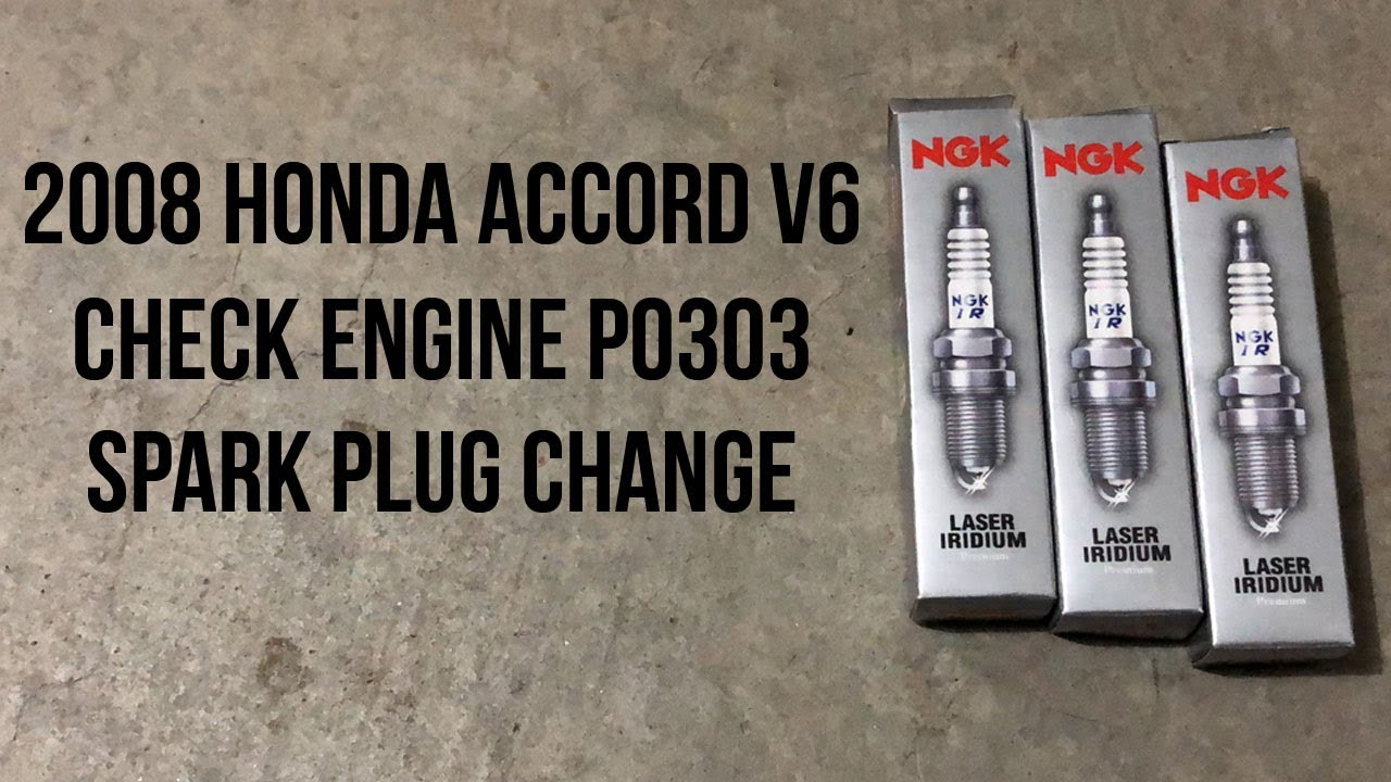 2008 Honda Accord V6 Spark Plug Change