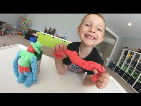 Thumbnail: FATHER & SON PLAY WITH CRAZY FOAM! (Kinda Gross!)