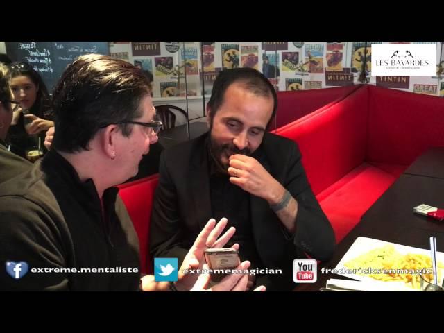 Déverrouiller un iPhone: Un magicien le fait en live au café Lazar à Paris #MagicienAlternat