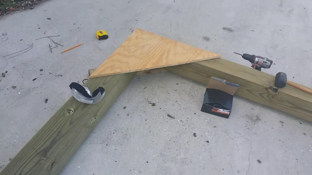 Wood Gantry Crane Part3