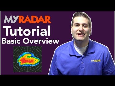 MyRadar Tutorial - Basic Overview