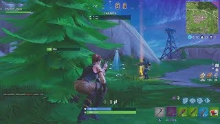Taking Down Thanos In My First Game Of Infinity Gauntlet Fortnite