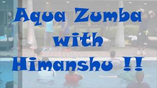 Aqua Zumba with Himanshu in ZES Shweta's Aqua Masterclass @ JW Marriott Pune