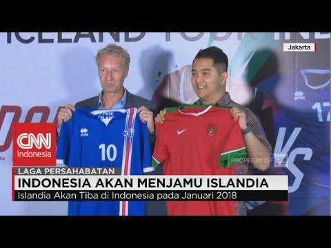 Timnas Indonesia Akan Menjamu Islandia