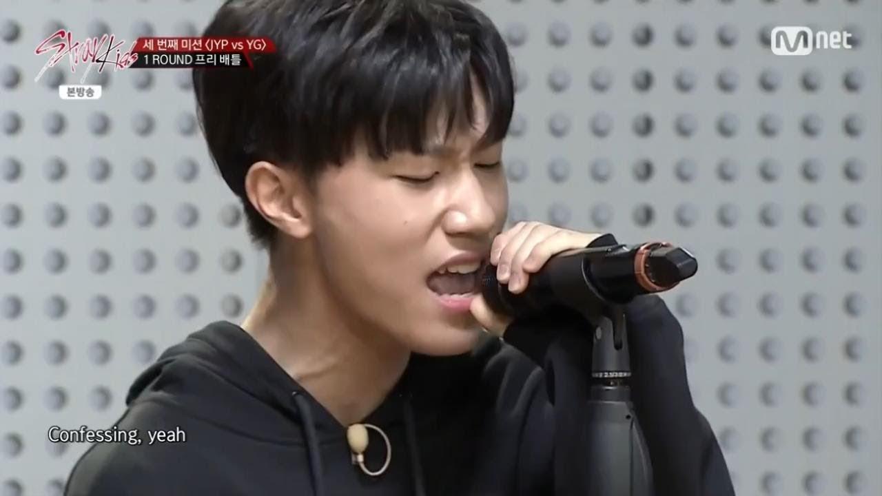 방예담 – 'There's Nothing Holdin' Me Back' ('Stray Kids'  YG vs JYP 프리 배틀)